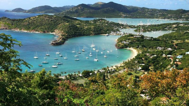 the history of antigua 90,000 (2013) some 2,000 on barbuda 25 per cent of people live in urban areas growth 16 per cent pa 1990–2013 birth rate 16 per 1,000 people (2.