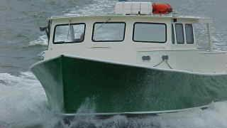 Privately Chartered Lobster Boat - Privately Chartered Lobster Boat. Copyright ShoreTrips.com.