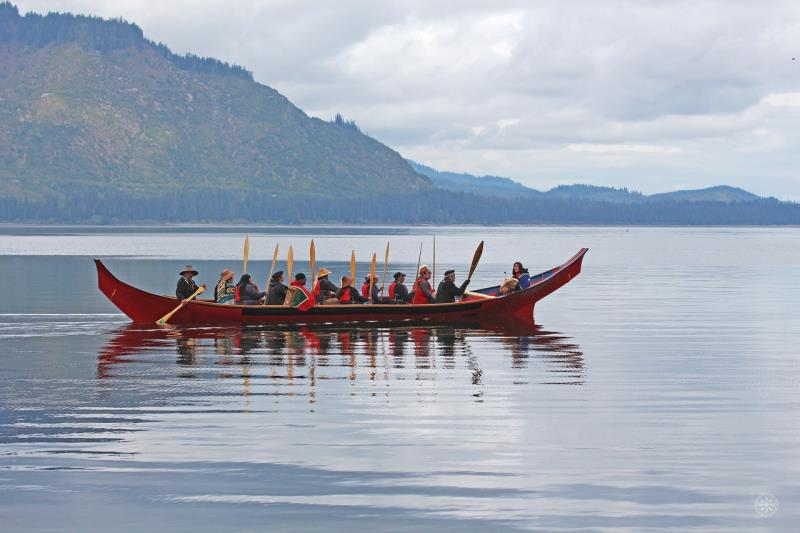 Tlingit Canoe And Cultural Experience - Tlingit Canoe And Cultural Experience. Copyright ShoreTrips.com.