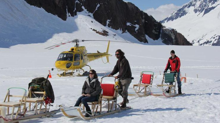 Extended Helicopter And Dog Sled Tour - Extended Helicopter And Dog Sled Tour. Copyright ShoreTrips.com.