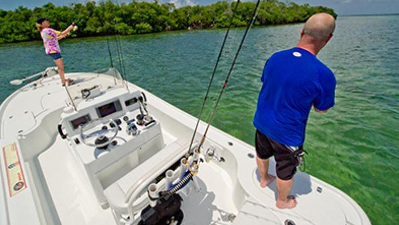 Backcountry fishing charter key west florida caribbean for Key west shore fishing