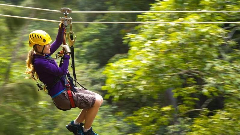Kona Zipline Canopy Adventure - Hotel Guests Only - Kona Zipline Canopy Adventure - Hotel Guests Only. Copyright ShoreTrips.com.