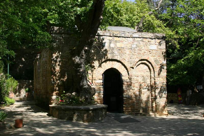 House Of The Virgin Mary And Ephesus. - House Of The Virgin Mary And Ephesus.. Copyright ShoreTrips.com.