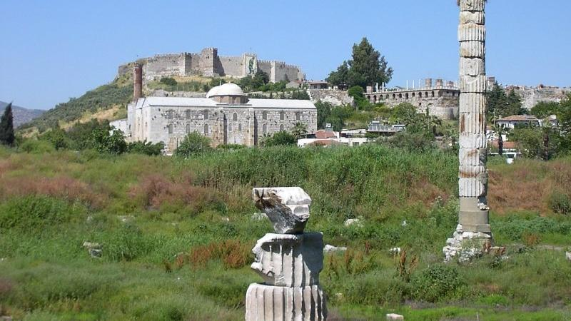 Temple Of Artemis, Ephesus And The Terrace House - Temple Of Artemis, Ephesus And The Terrace House. Copyright ShoreTrips.com.