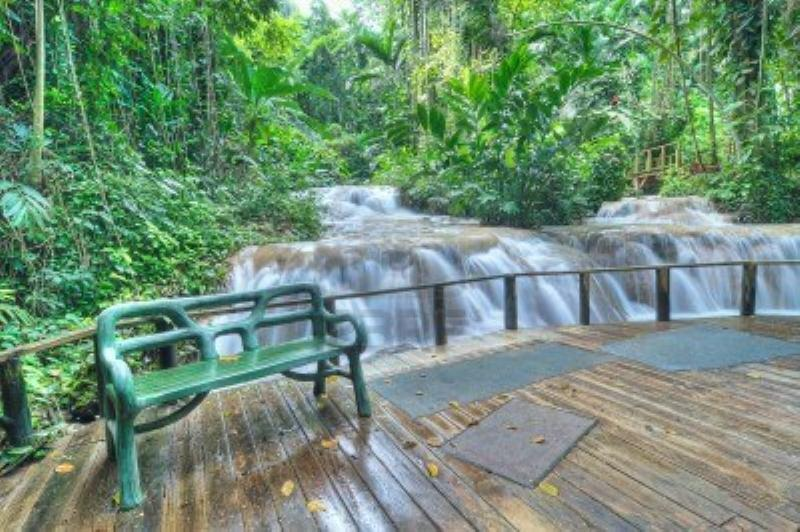 Combo tour green grotto caves with enchanted gardens for The enchanted gardens jamaica