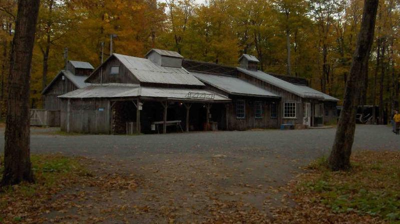 The Famous Maple Sugar Shack - Group Trip - The Famous Maple Sugar Shack - Group Trip. Copyright ShoreTrips.com.