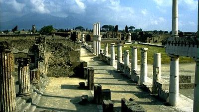 The Ruins Of Pompeii From Rome - The Ruins Of Pompeii From Rome. Copyright ShoreTrips.com.