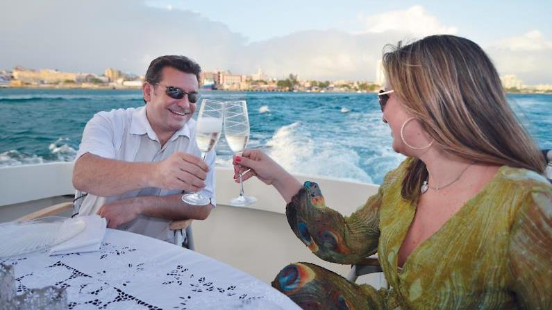 Private: Tropical Sunset Cruise - Private: Tropical Sunset Cruise. Copyright ShoreTrips.com.