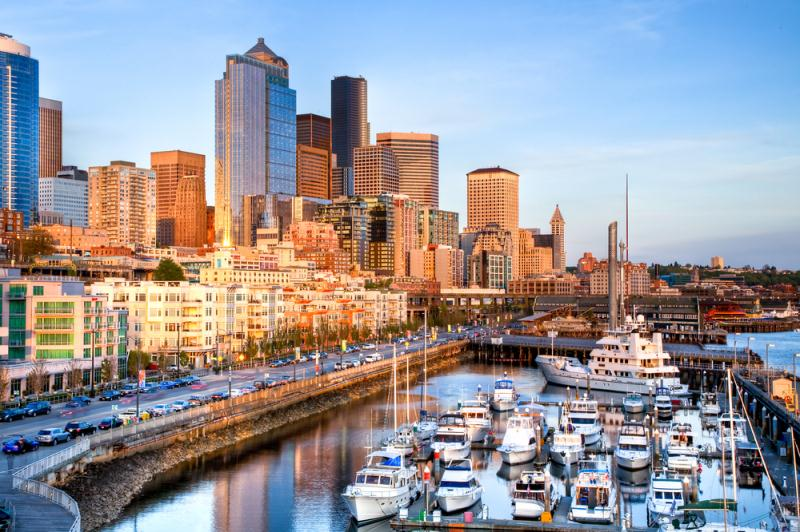 Seattle highlights with hotel and pier transfers for Seattle fishing pier
