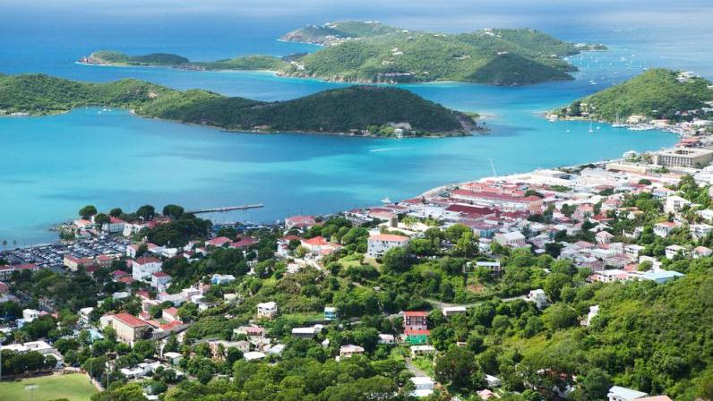 A Lovely Island And Beach Tour - St. Thomas Highlights With Magen's Bay. Copyright ShoreTrips.com.