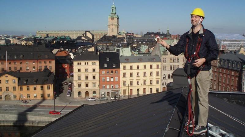 Walk On The Rooftops Of Stockholm - Walk On The Rooftops Of Stockholm. Copyright ShoreTrips.com.