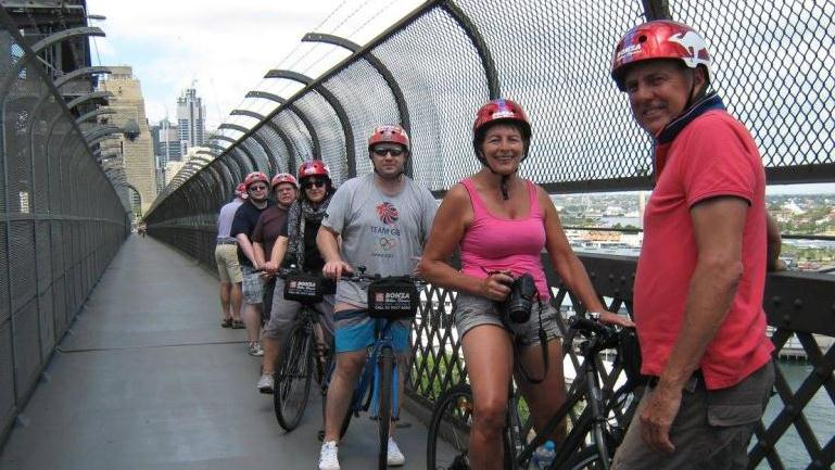 Sydney By Bike - Sydney By Bike. Copyright ShoreTrips.com.