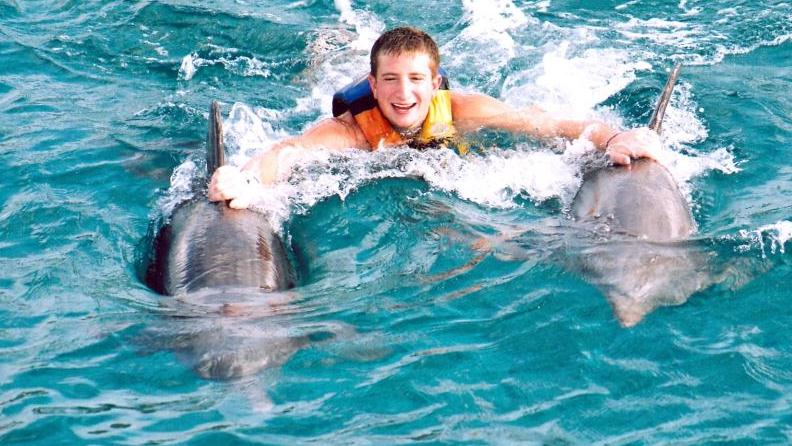69f613f23fe Caribbean & Central America Swim With The Dolphins In Cozumel-The Royal Swim  — Cozumel Mexico | Shoretrips
