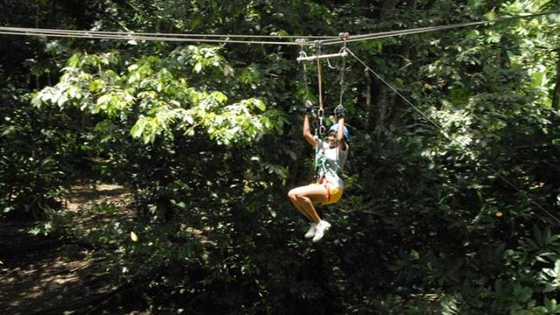 DOMINICA HIGH ROPES CANOPY ADVENTURE