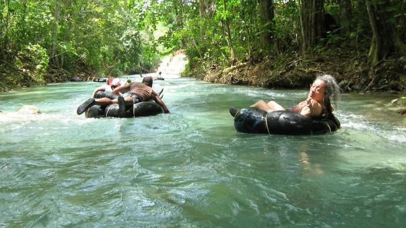 TUBING ON THE WHITE RIVER + DUNN'S RIVER FALLS